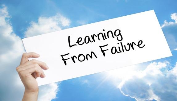 نقش شکست ها در موفقیت